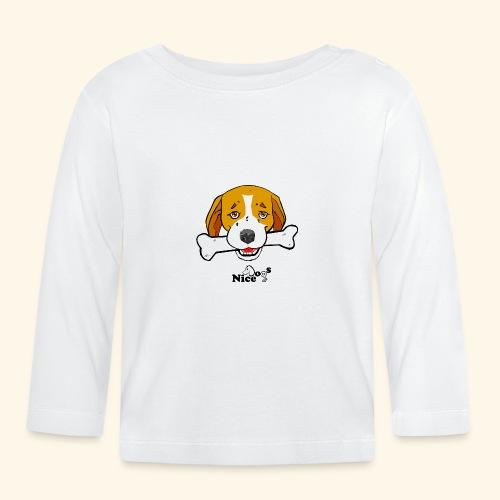 Nice Dogs Semolino - Maglietta a manica lunga per bambini