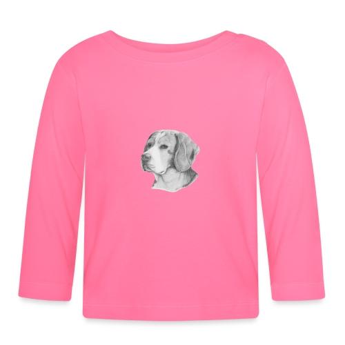 beagle M - Langærmet babyshirt