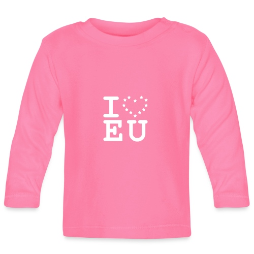 i love EU European Union Brexit - Baby Long Sleeve T-Shirt