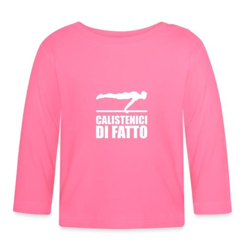 Logo Calistenici di Fatto - Maglietta a manica lunga per bambini