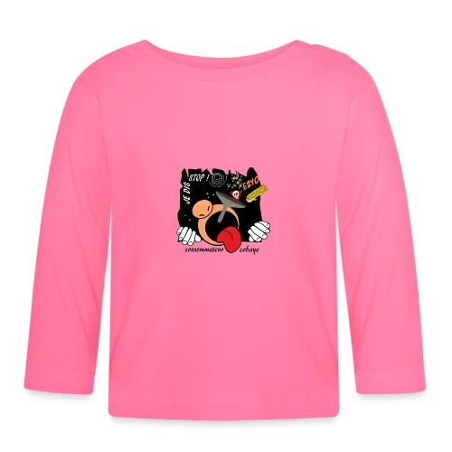 consommateur cobaye - T-shirt manches longues Bébé
