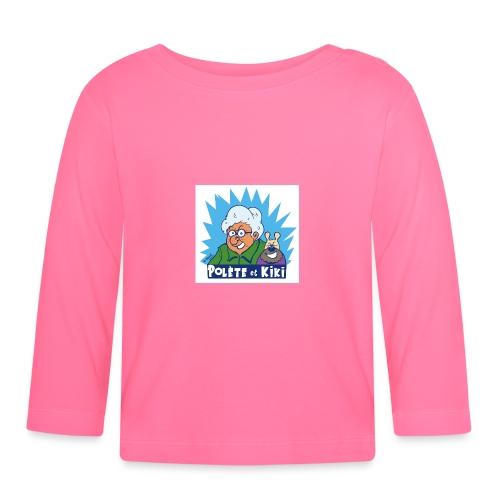 tshirt polete et kiki 1 - T-shirt manches longues Bébé