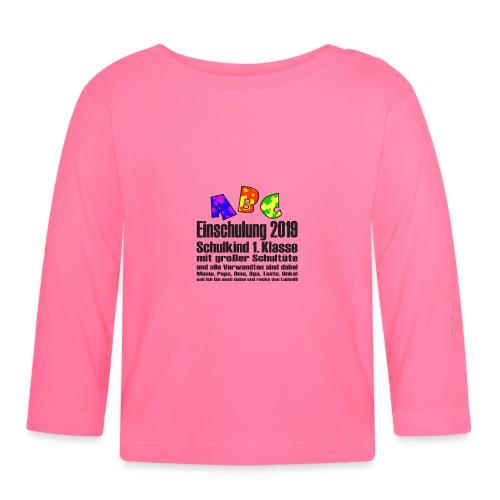 Einschulung Jahr 2019 - Baby Langarmshirt