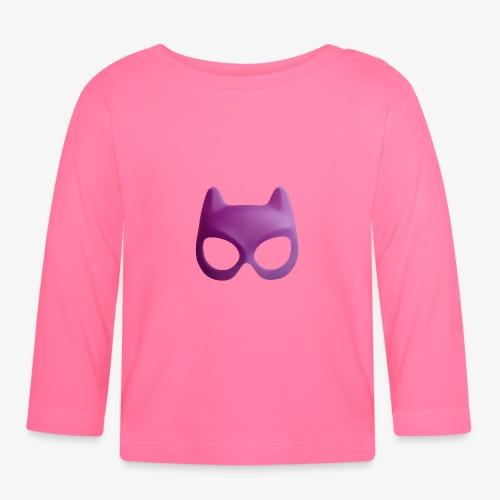 Bat Mask - Koszulka niemowlęca z długim rękawem