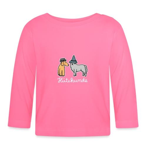 Hütehunde Hunde mit Hut Huetehund - Baby Langarmshirt