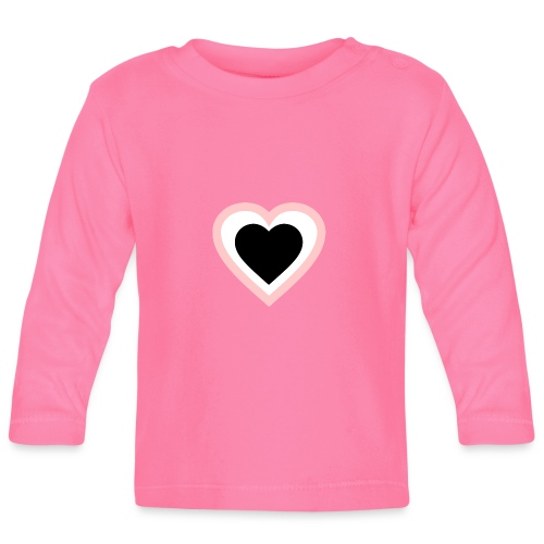 Heartbeat Romantic Heart - Baby Langarmshirt