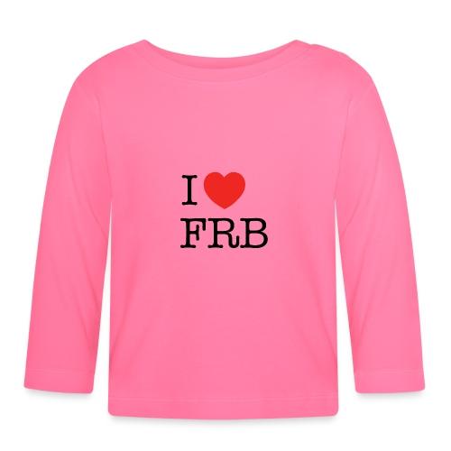 I Love FRB - Streetwear - Langærmet babyshirt