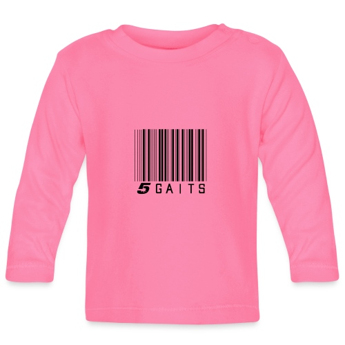 5gaitsBarcode - Baby Long Sleeve T-Shirt