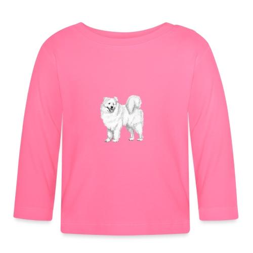 samoyed - Langærmet babyshirt