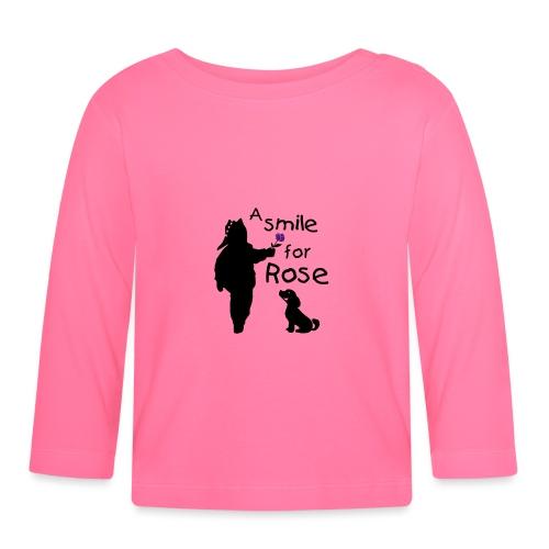 A Smile for Rose - Maglietta a manica lunga per bambini