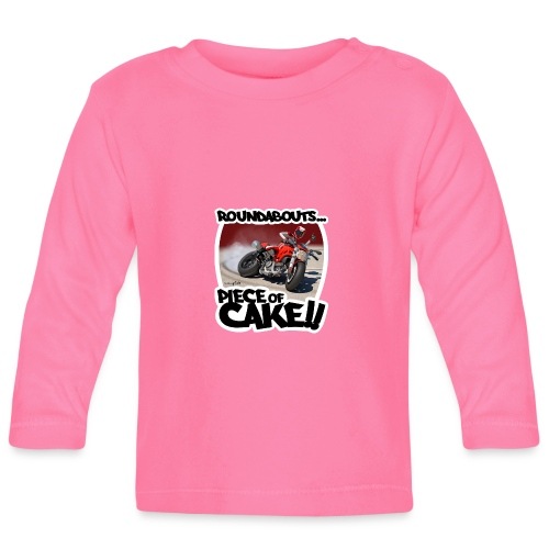 Ducati Monster Skidding - Camiseta manga larga bebé