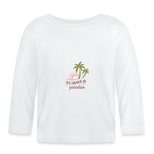 Summer paradise - Baby Long Sleeve T-Shirt