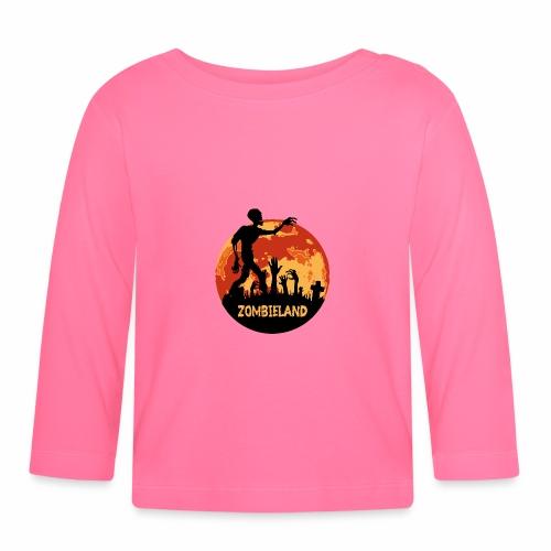 Zombieland Halloween Design - Baby Langarmshirt