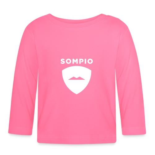 Sompio logo sleeve - Vauvan pitkähihainen paita