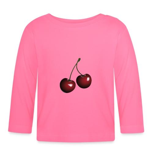 Körsbär - Långärmad T-shirt baby