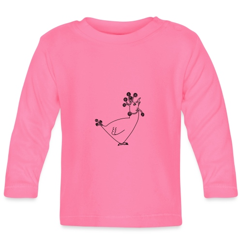 Cosmic Chicken - Baby Long Sleeve T-Shirt