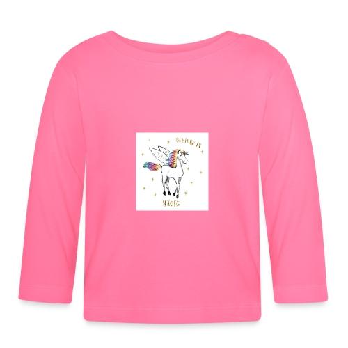 Licorne Swagg - T-shirt manches longues Bébé