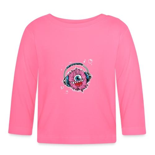 pink monster - Baby Langarmshirt