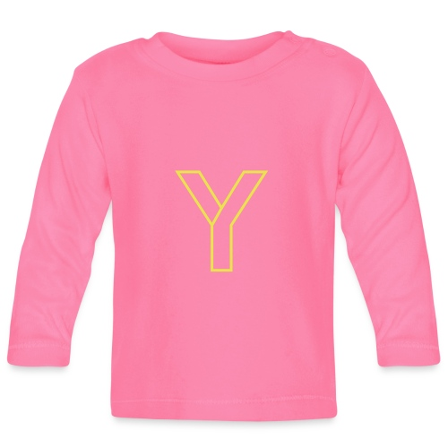 ChangeMy.Company Y Yellow - Baby Langarmshirt