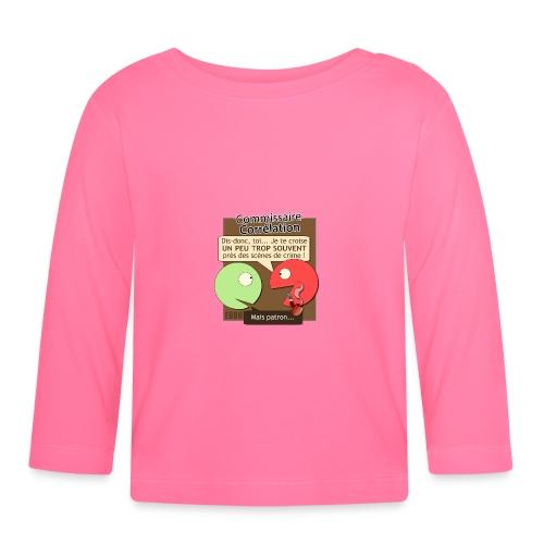 Commissaire Corrélation - T-shirt manches longues Bébé
