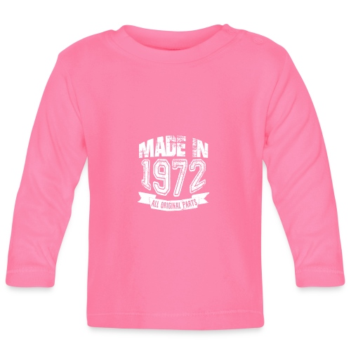 Made in 1972 - Camiseta manga larga bebé