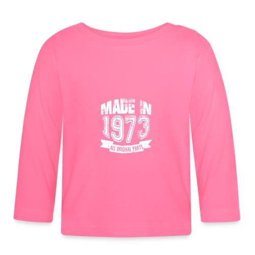 Made in 1973 - Camiseta manga larga bebé
