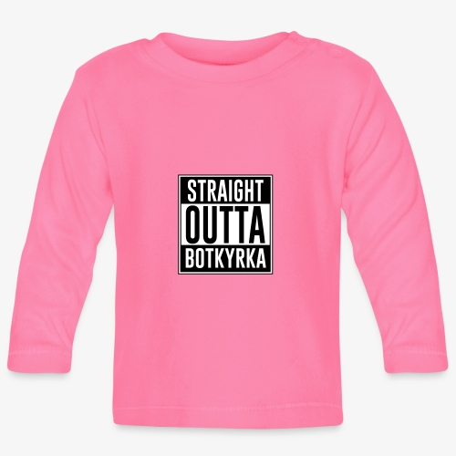 Straight Outta Botkyrka - Långärmad T-shirt baby