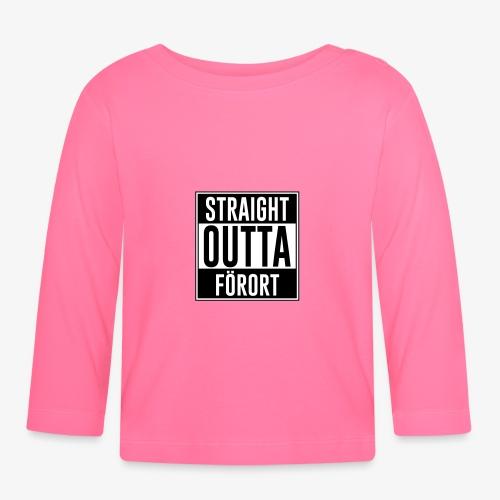 Straight Outta Förort - Långärmad T-shirt baby