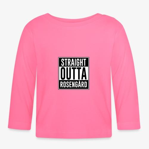 Straight Outta Rosengård - Långärmad T-shirt baby
