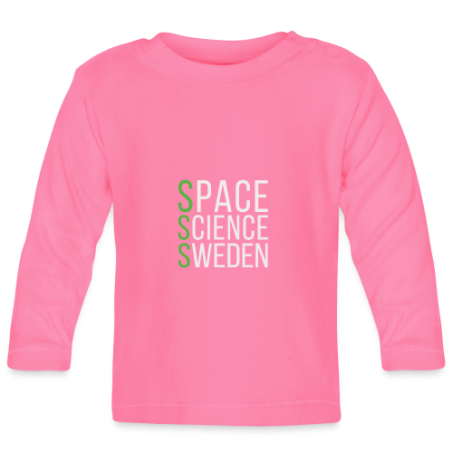 Space Science Sweden - vit - Långärmad T-shirt baby