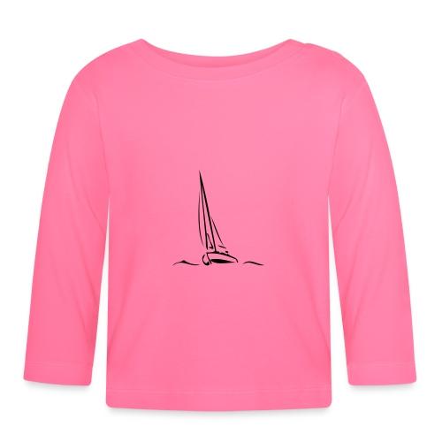 Segelboot - Baby Langarmshirt