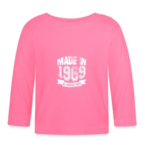 Made in 1969 - Camiseta manga larga bebé