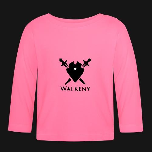Walkeny Schwert Logo! - Baby Langarmshirt