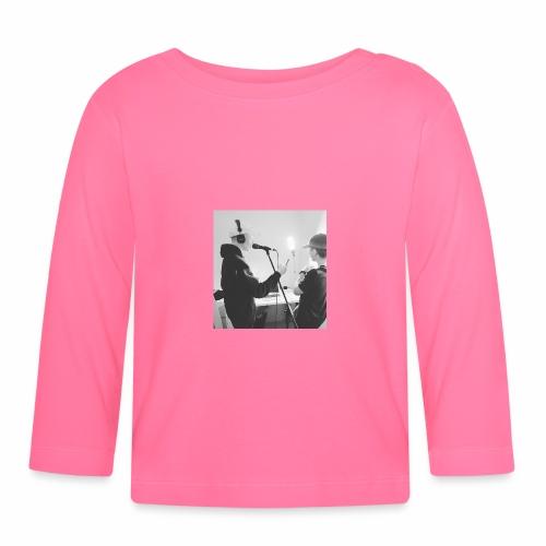 collab med timm9o9 - Langærmet babyshirt