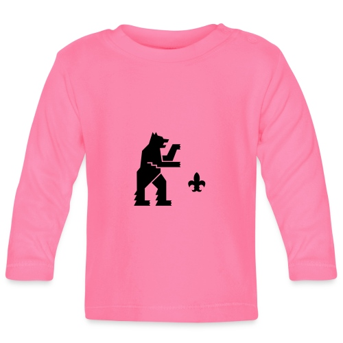 hemelogovektori - Vauvan pitkähihainen paita