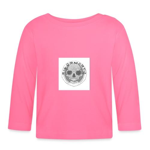RIGORMORTIZ BOLD LOGO - Baby Long Sleeve T-Shirt
