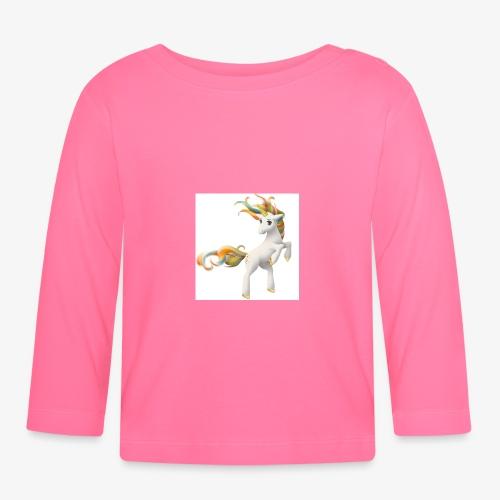 Love Unicorn - Baby Langarmshirt