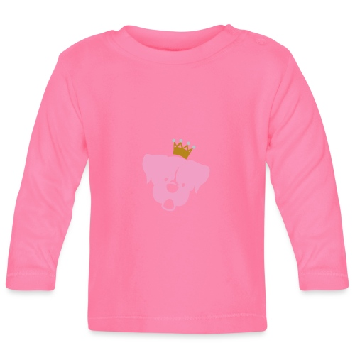 Prinz Poldi rosa - Baby Langarmshirt