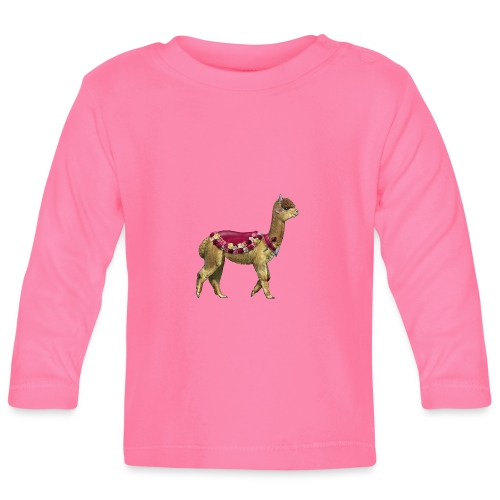 VINTAGE LAMA BLOEMEN - T-shirt
