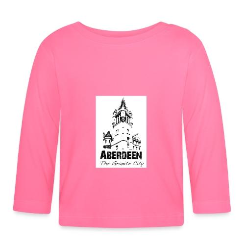 Aberdeen the Granite City - Baby Long Sleeve T-Shirt