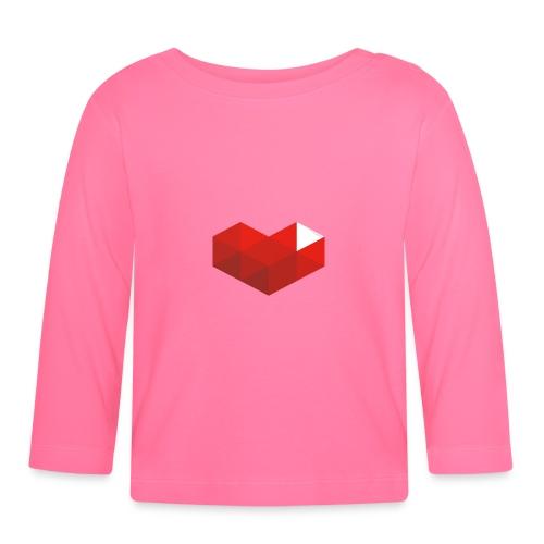 MrKinToast Heart Logo - Baby Long Sleeve T-Shirt