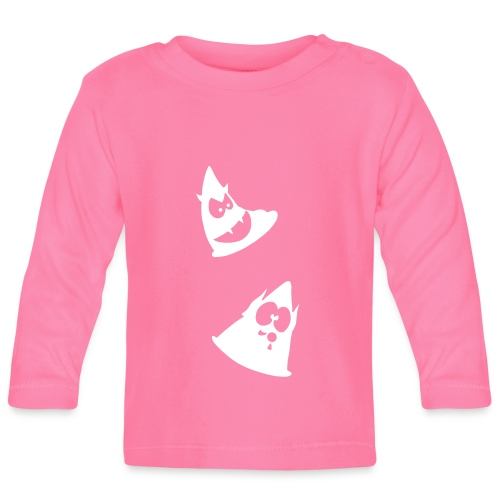 Conos diabólicos 1 - Camiseta manga larga bebé