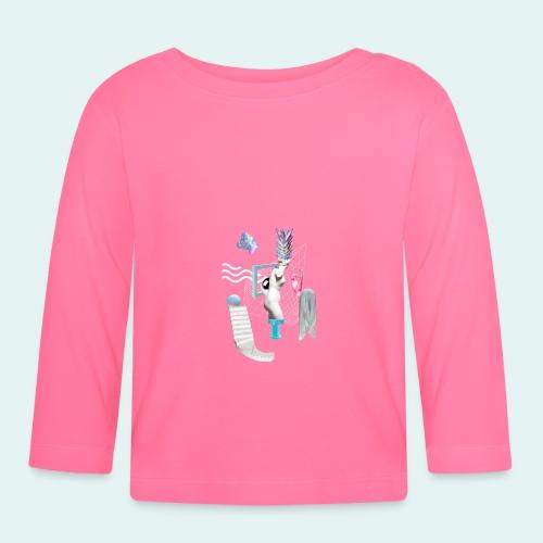 Virtual plaza - Langærmet babyshirt