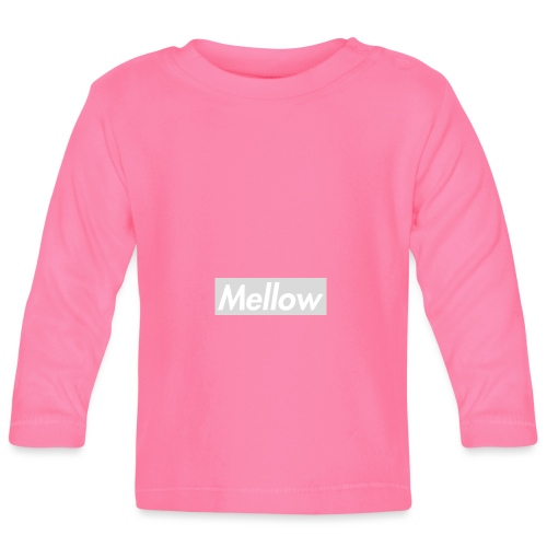 Mellow White - Baby Long Sleeve T-Shirt