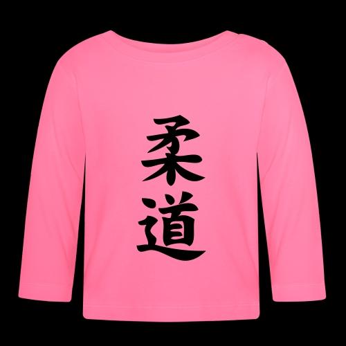 judo - Koszulka niemowlęca z długim rękawem