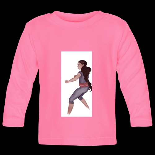 Steven Universe fanart connie training - Baby Long Sleeve T-Shirt