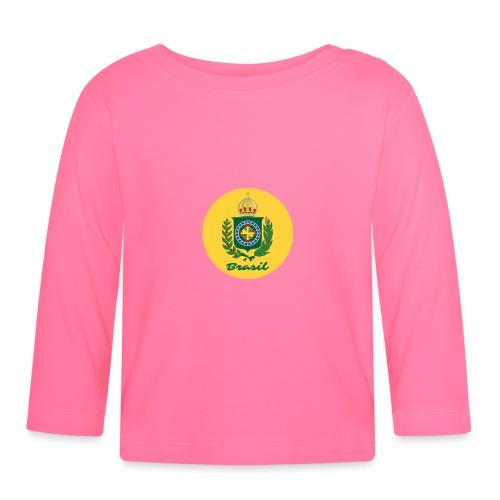 Monarquia Brasil - Langarmet baby-T-skjorte