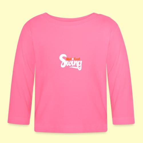 West Coast Swing Dance Geschenk T-Shirt - Baby Langarmshirt
