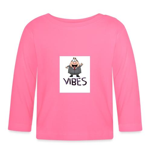 BossVibes version 3 - Langærmet babyshirt