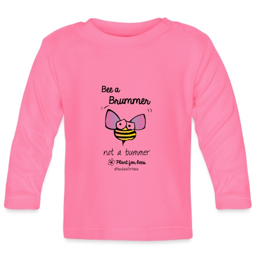 Bees6-1 Save the bees - Baby Long Sleeve T-Shirt